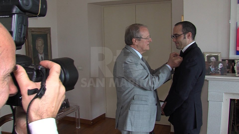 La cerimonia all'Ambasciata
