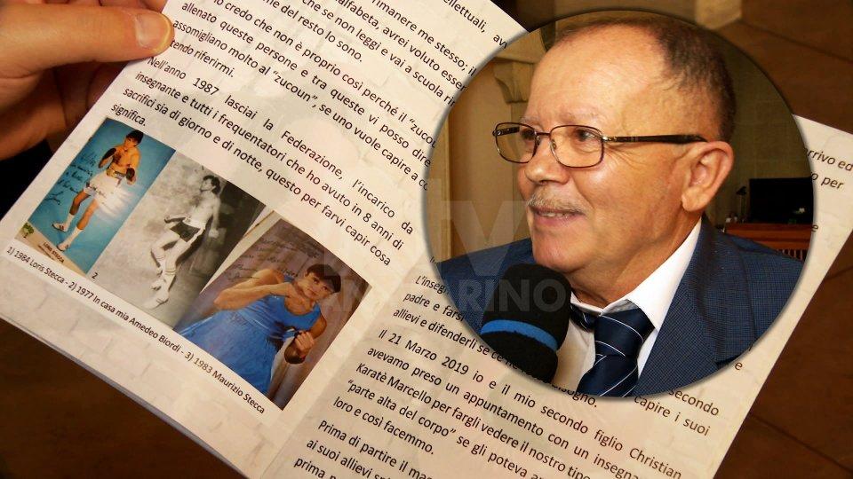 """Amedeo Biordi ha presentato il libro """"Racconto di un figlio contadino diventato anche nonno"""""""