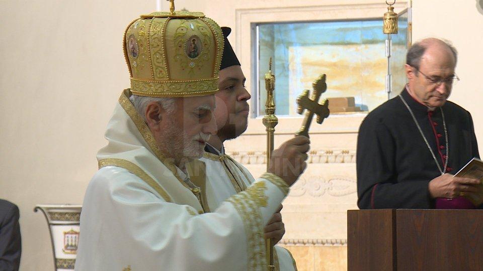 Alla Basilica del Santo la celebrazione liturgica con rito greco – bizantino
