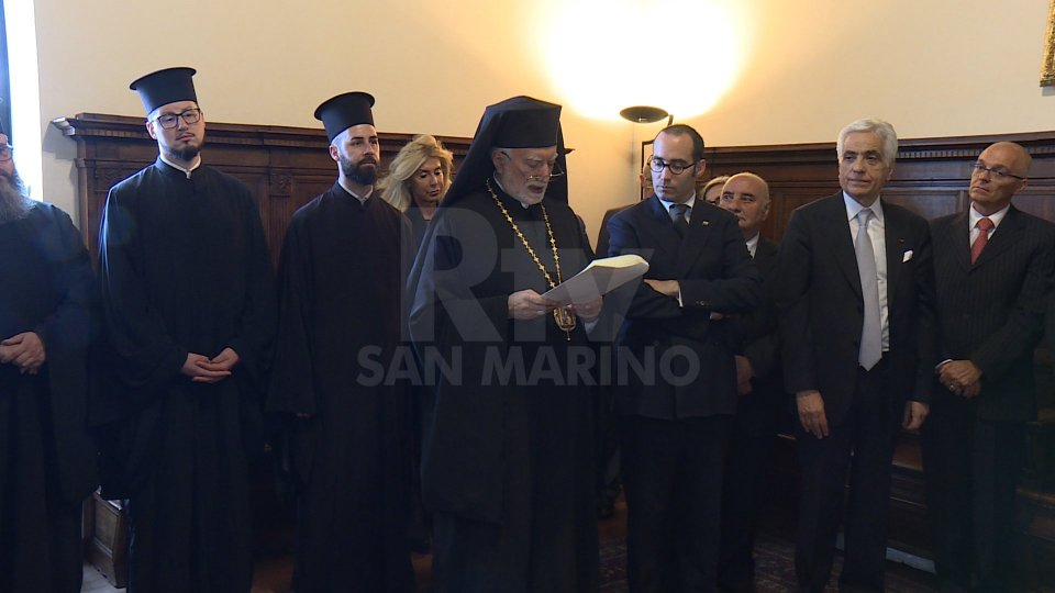 Nel servizio l'intervista all'eparca mons. Donato Oliverio e al Segretario Nicola Renzi
