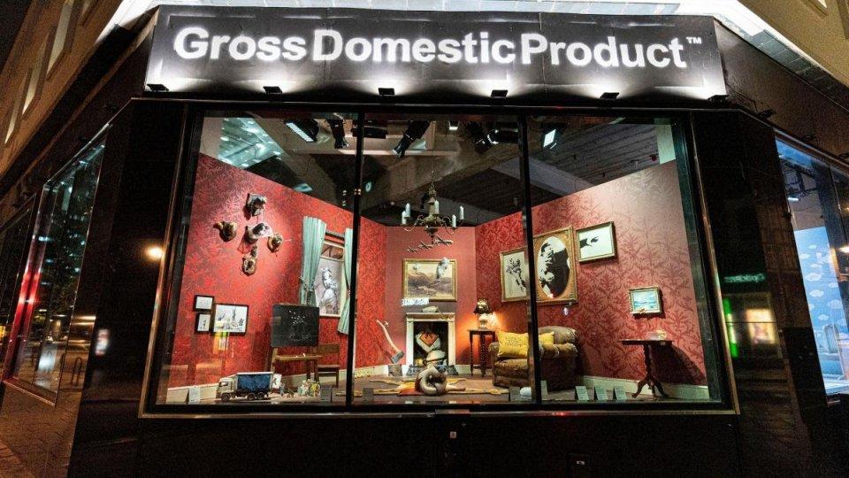 Banksy apre un negozio on line per clienti a basso reddito