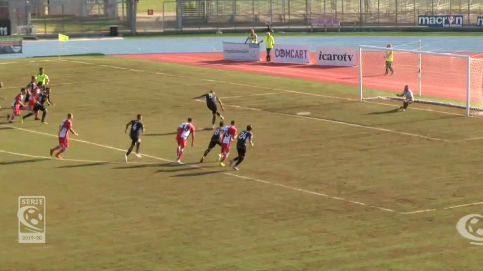 Rimini-Cesena 1-1Rimini-Cesena 1-1