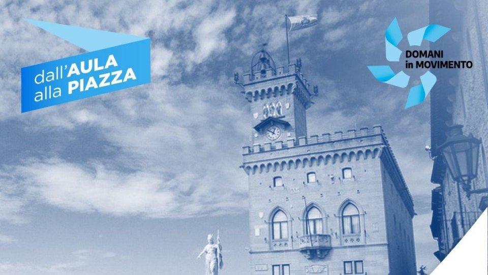 """""""Dall'Aula alla piazza"""",  lunedì 21 ottobre, presso la sala polivalente di Murata alle 21.00"""