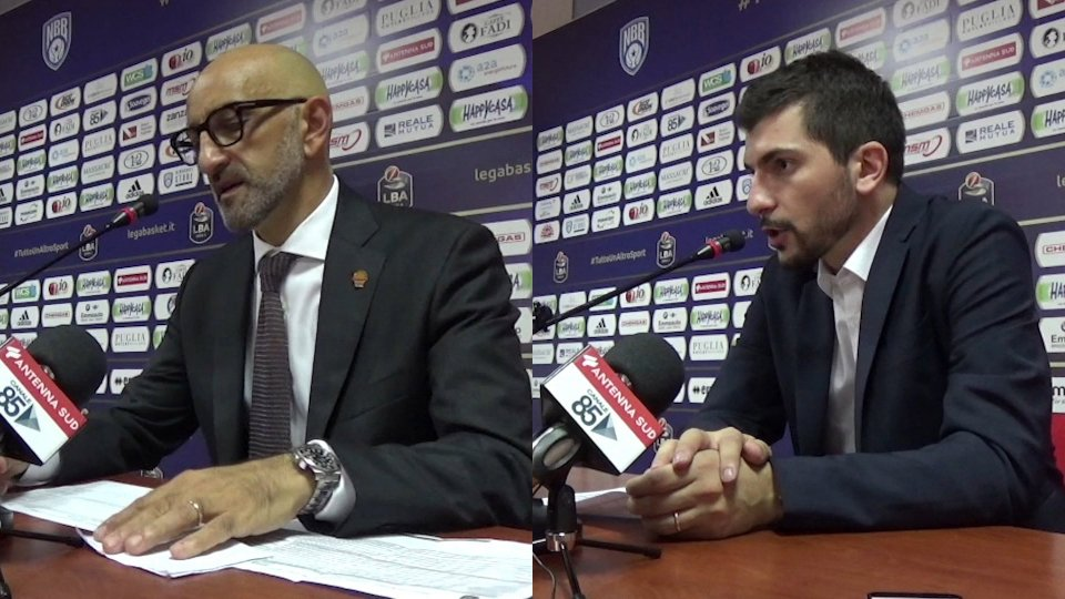 i coach Frank Vitucci e Federico Perego