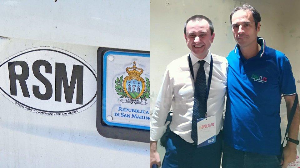 Nella foto a destra il vicepresidente della Camera dei Deputati Ettore Rosato e il vicepresidente Comites Alessandro Amadei