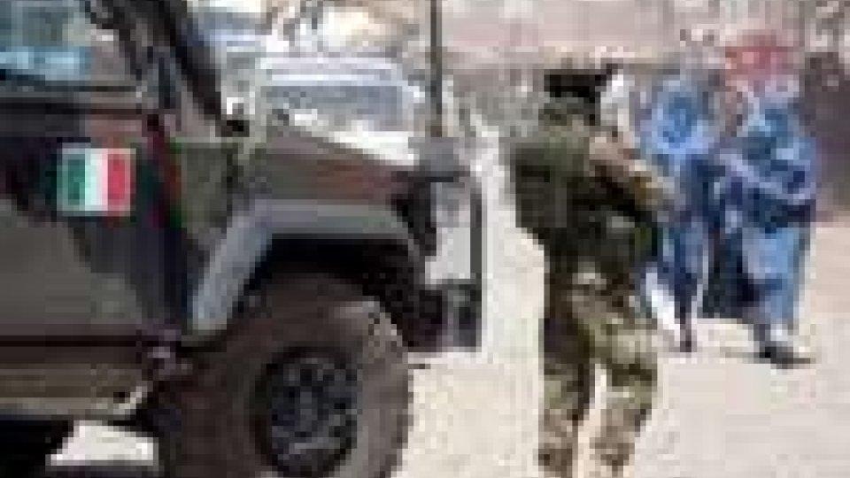 Morto militare italiano in Afghanistan