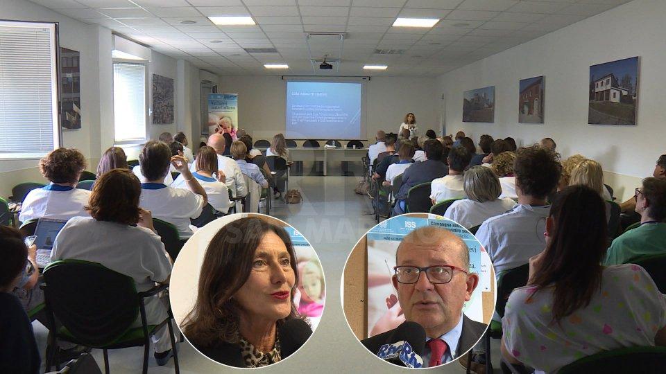 Nel servizio le interviste a Mara Morini (Direttore attività sanitarie) e Francesco Toni (Direttore Dipartimento Igiene Sanità Pubblica AUSL Romagna)