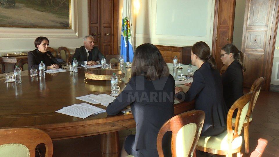 La Delegazione Osce e Rtv