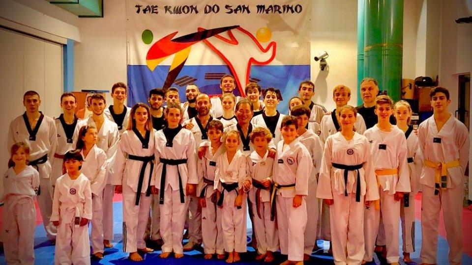 Taekwondo: 2° stage di combattimento 2019 con il Gran Maestro Park Young Ghil