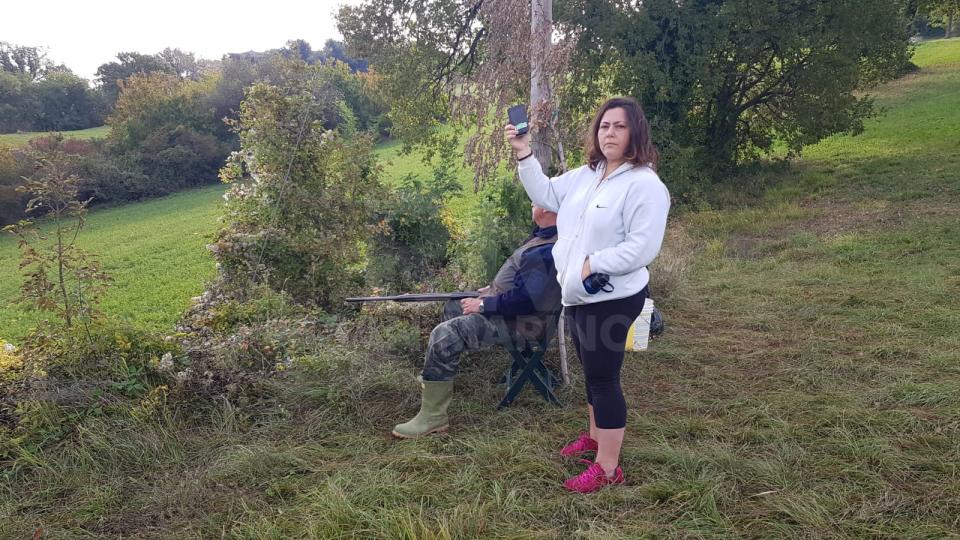 """Fiorentino, residente inizia sit-in contro la caccia: """"Rischiamo spesso di venire colpiti"""""""