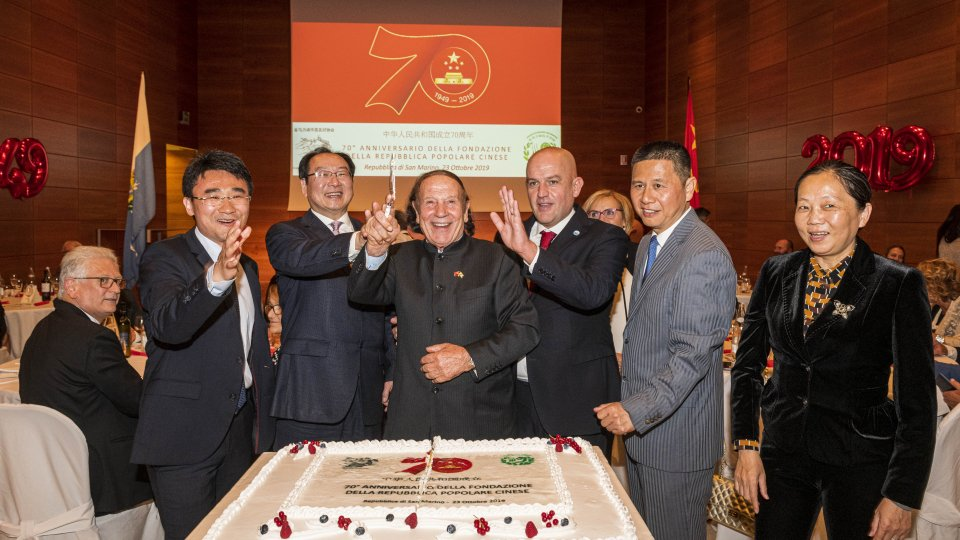 l'Associazione San Marino - Cina festeggia la Repubblica Popolare Cinese