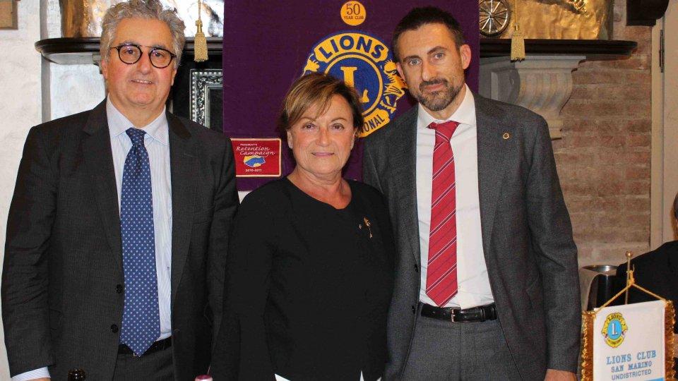 La Fondazione Cino Mularoni al Lions Club