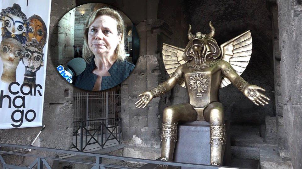 Nel video l'intervista a Alfonsina Russo direttrice Parco archeologico Colosseo
