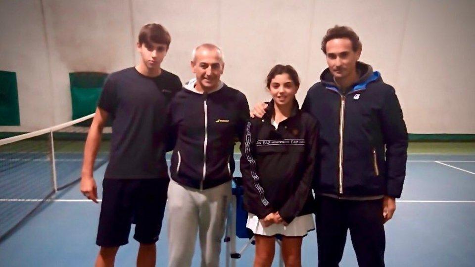 Per i giocatori della San Marino tennis Academy due giorni di valutazioni biomeccaniche applicate al tennis con Gennaro Volturo, uno dei massimi esperti de settore