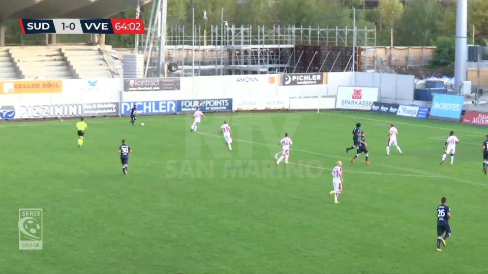 SudTirol - Virtus Verona 1-0