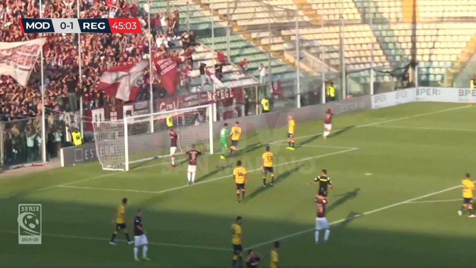 Serie C: la Reggiana vince al Braglia di Modena e raggiunge il quarto posto in classifica