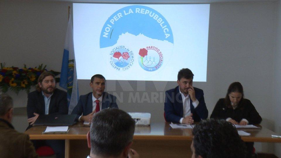 """Noi per la Repubblica""""Noi per la Repubblica"""" si presenta: """"Il vero nemico è la crisi"""""""