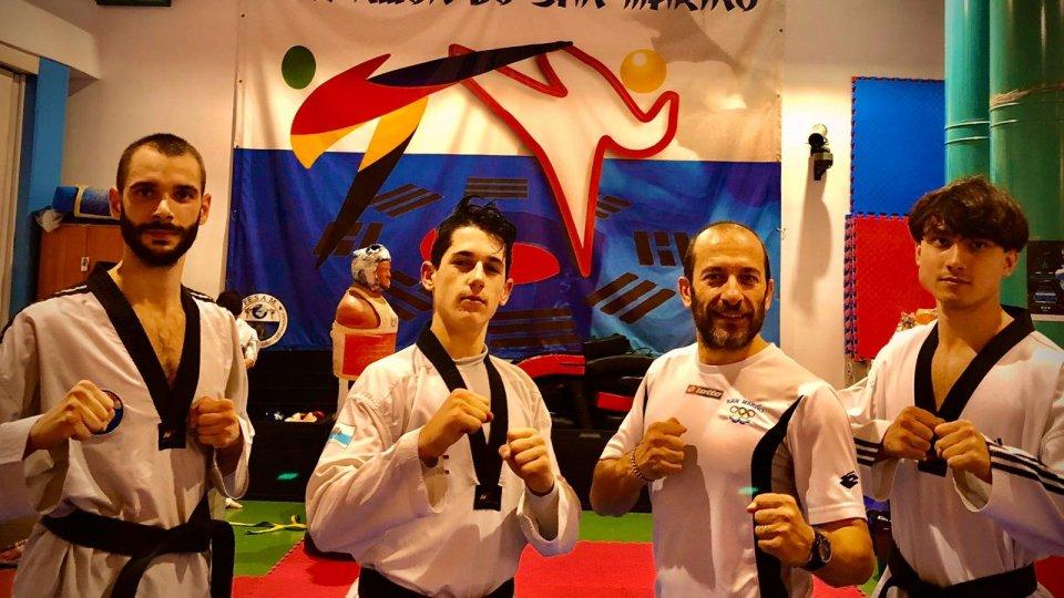 Taekwondo San Marino all'extra European Championship di Bari