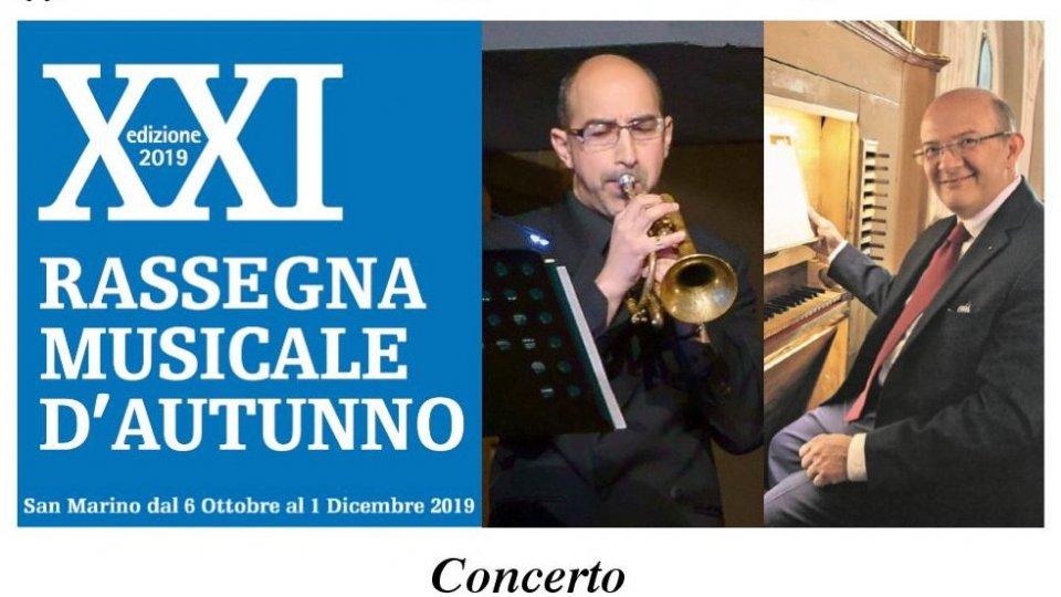 Concerto per tromba e organo nella Basilica del Santo di Michele Santi e Enrico Viccardi