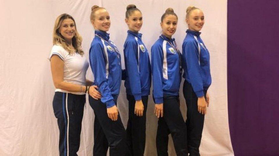 Campionato regionale Gold: qualificazioni raggiunte per la Società Sportiva Ginnastica San Marino