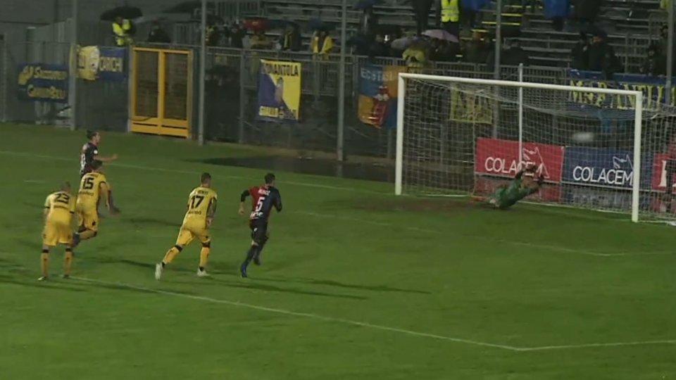 Gubbio-Modena 1-0