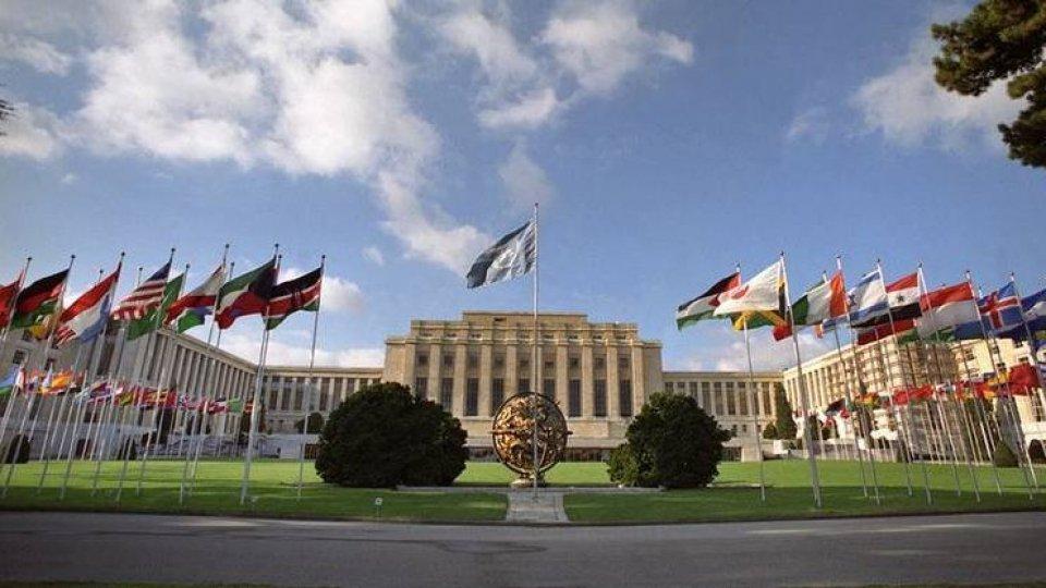 Il palazzo dell'Onu a Ginevra