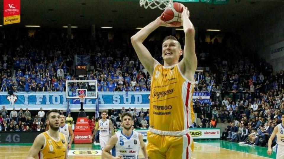 VL Pesaro bella per un quarto, Treviso vince 85-75