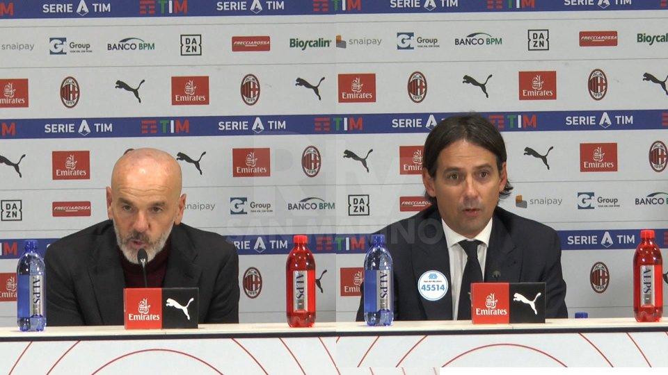 Stefano Pioli e Simone InzaghiStefano Pioli e Simone Inzaghi