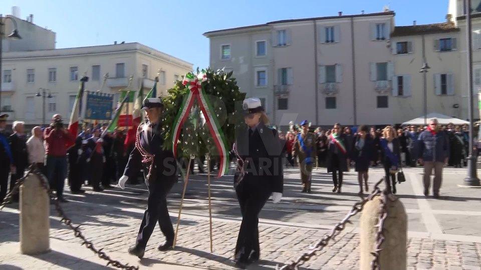 La cerimonia a Rimini
