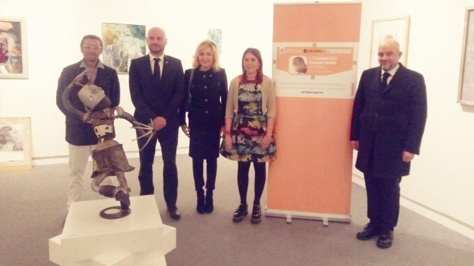 """Esposizione delle opere del 2° Concorso Internazionale d'arte """"Carlo Biagioli"""""""