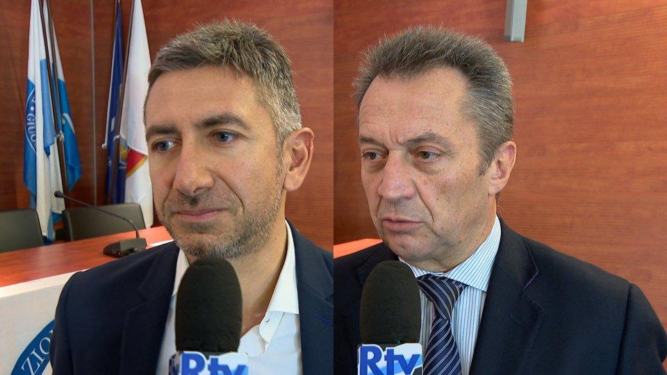 Giacomo Esposito e Marco Tura