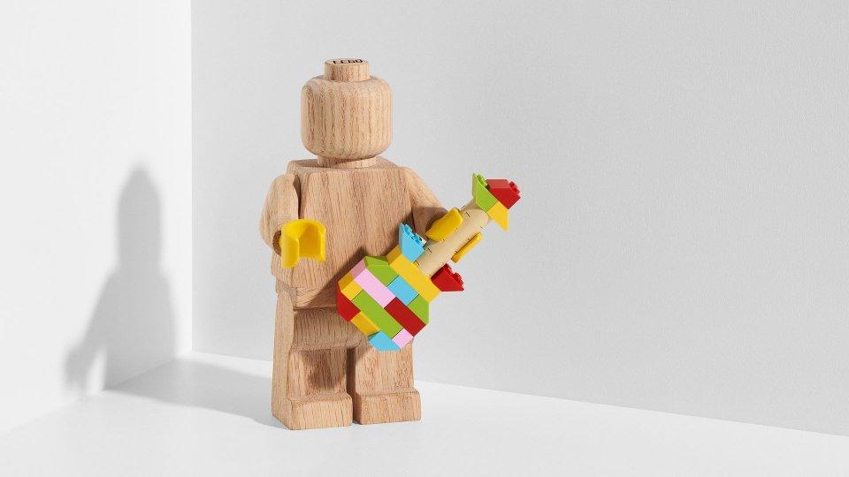 L'Omino della Lego diventa elemento d'arredo