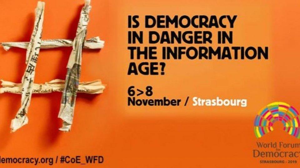Forum Democrazia: Beatrice Simoncini (Dipartimento Affari Esteri) al laboratorio dedicato al contrasto delle fake news