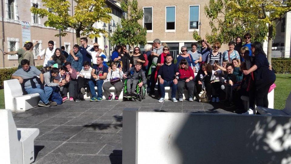 Visita a Ravenna per i ragazzi dell'Atelier insieme all'ANFFAS Lugo