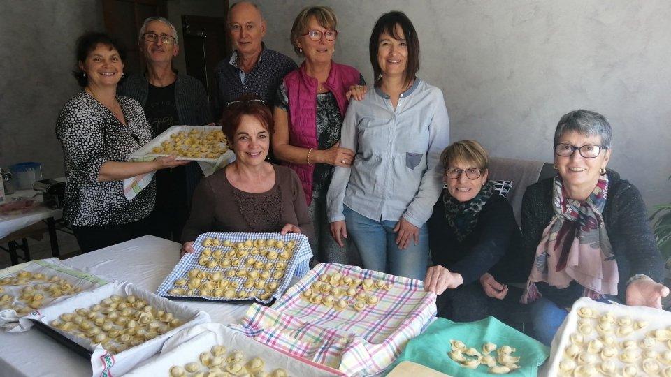 Associazione San Marino a Grenoble: proseguono i corsi di cucina tradizionale romagnola