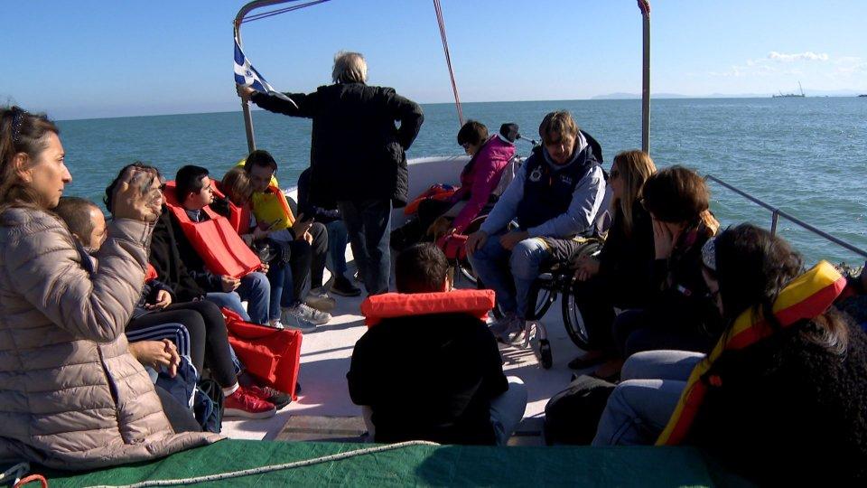Nel video, l'intervista al vicesindaco di Rimini, Gloria Lisi e al velista Marco Rossato
