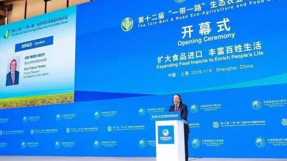 All'Expo di Shanghai l'esempio di San Marino nel forum su qualità e sicurezza alimentare
