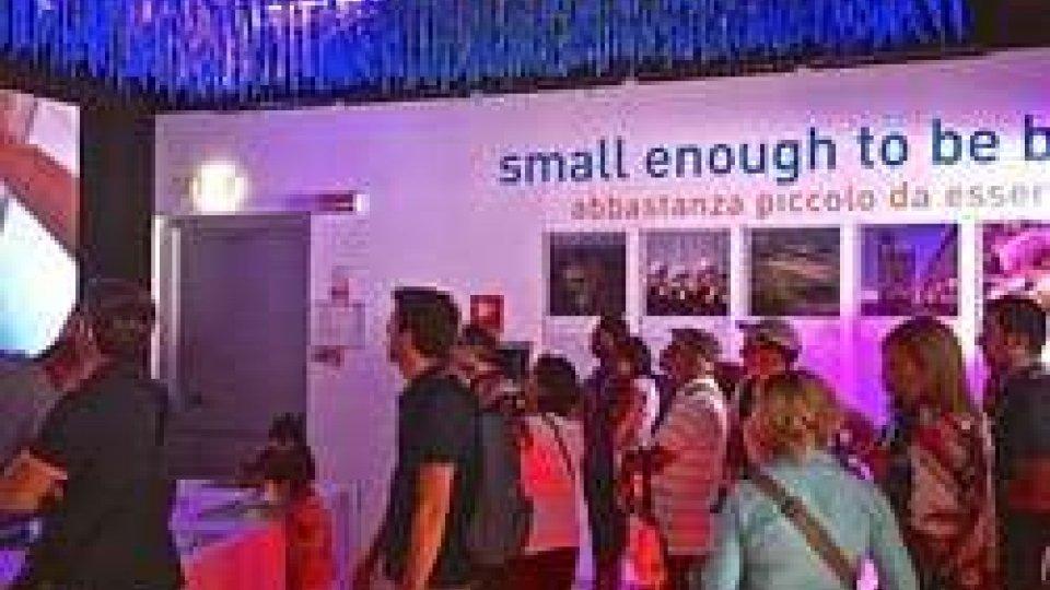 Il Padiglione di San Marino ha registrato ieri l'affluenza record di 3600 visitatori