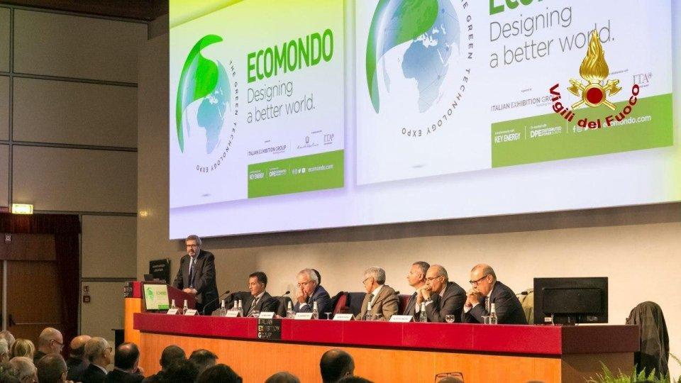 """Vigili del Fuoco Rimini: Manifestazione """"Ecomondo"""""""
