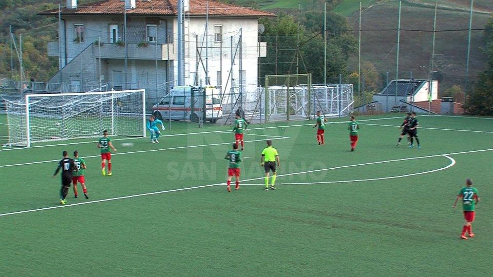 Ura regala i quarti di Coppa al Cailungo: netto 3-0 sulla Virtus
