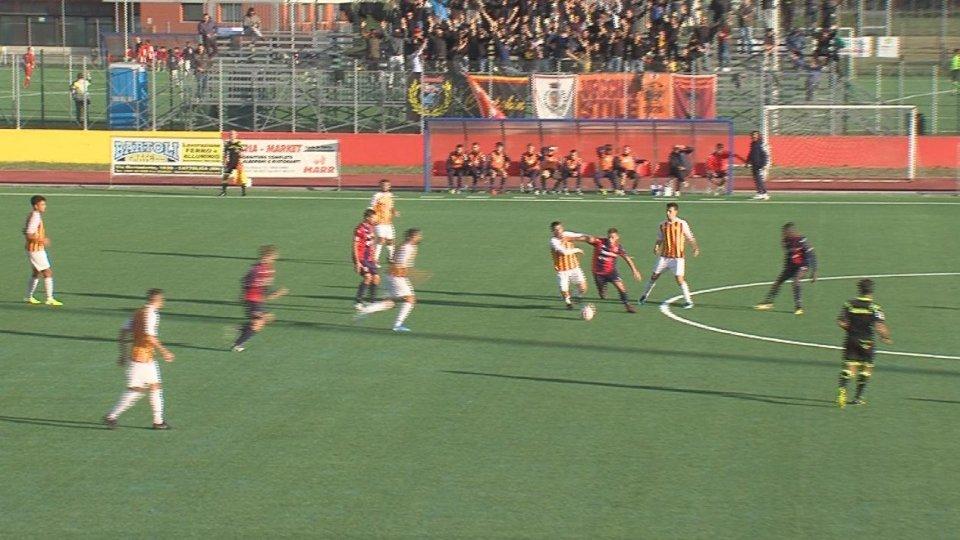 Primo punto casalingo per il Cattolica SM: 1-1 col Campobasso