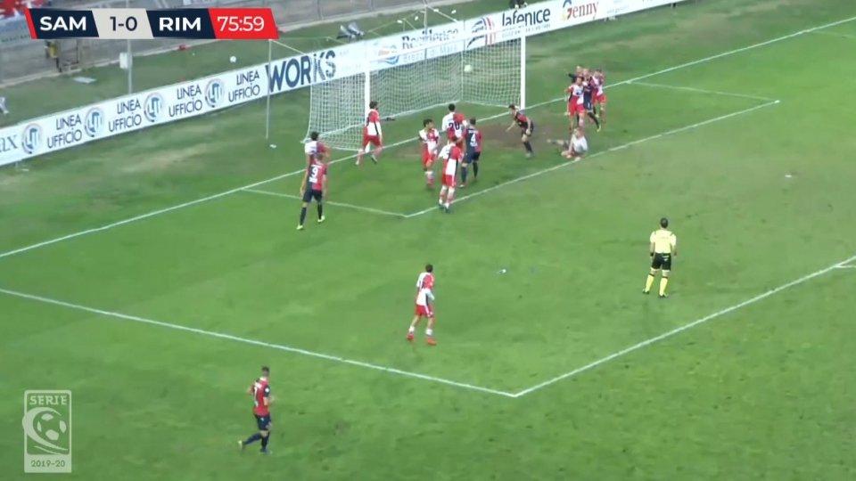 Sambenedettese – Rimini 2-0