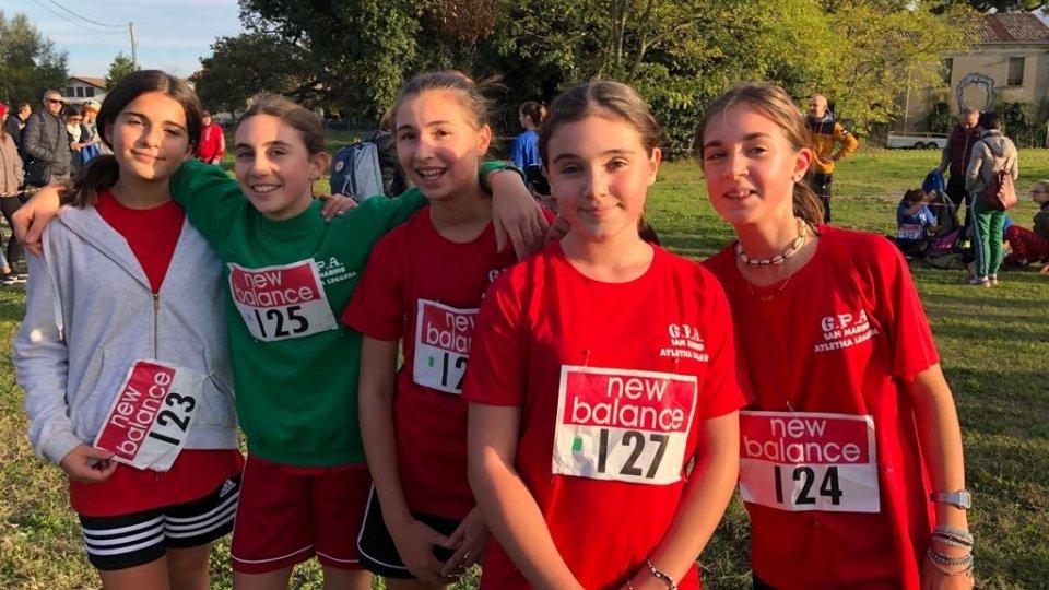 Atletica leggera : ragazze strepitose alla prima fase provinciale della corsa campestre