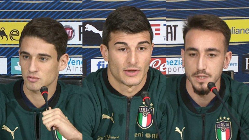 Andrea Cistana, Riccardo Orsolini e Gaetano Castrovilli