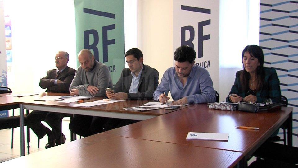 Esponenti di Repubblica Futura, foto archivio