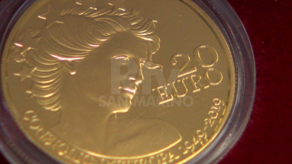 Coniata una moneta per i 70 anni del Consiglio d'Europa