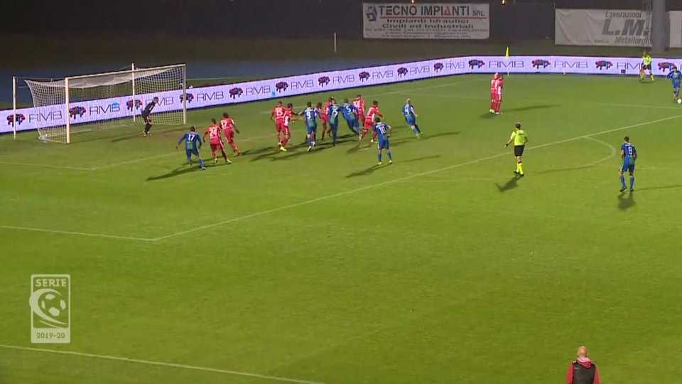 Feralpi Salò-Padova 1-0Feralpi Salò-Padova 1-0