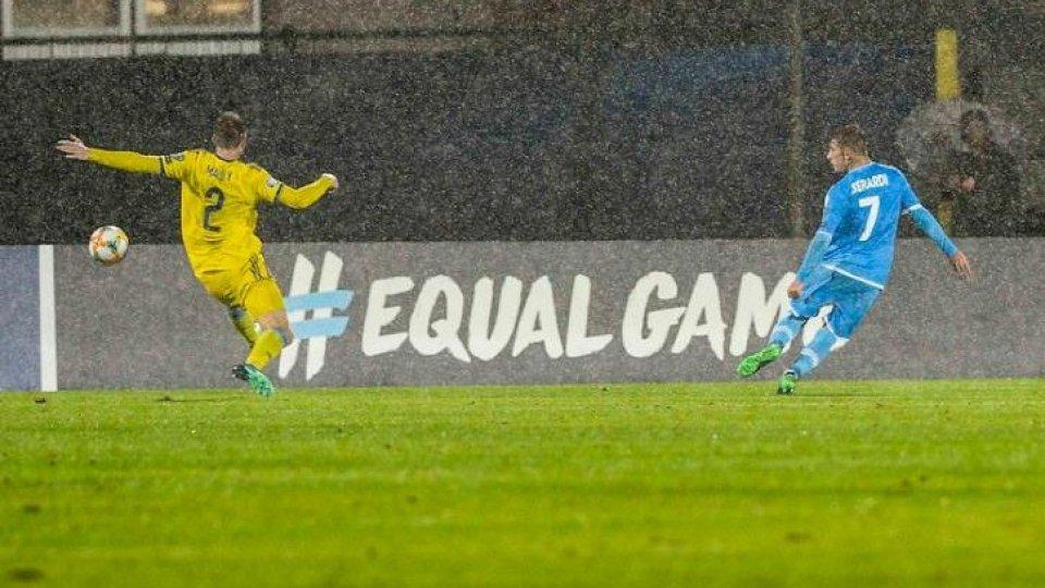 @FSGCSan Marino torna al gol 803 giorni dopo: a segno Berardi nel ko con il Kazakistan