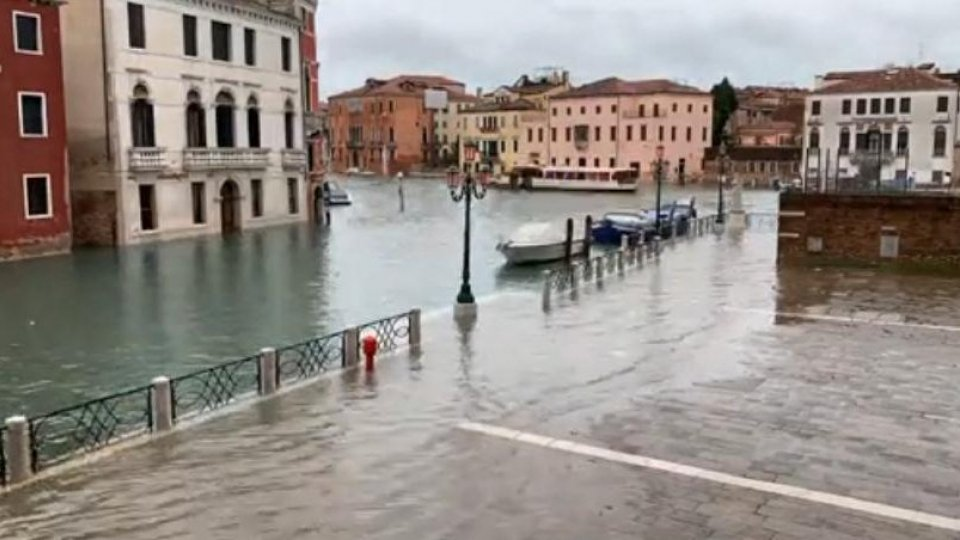 Maltempo, Venezia verso la normalità