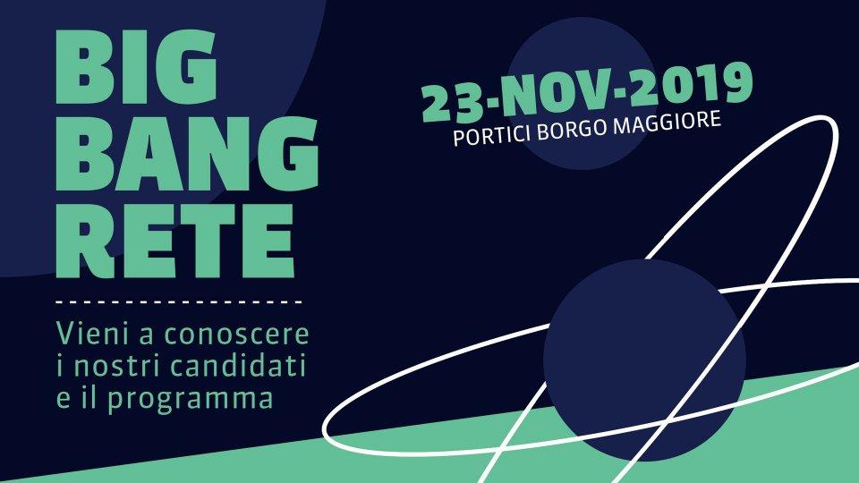 Big bang RETE, la presentazione dei candidati e del programma
